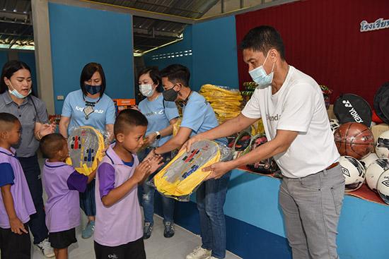 ฮอนด้าชวนทำดี ครั้งที่ 4,ฮอนด้าชวนทำดี,ฮอนด้าชวนทำดี โรงเรียนบ้านหนองไผ่,ฮอนด้าชวนทำดี โรงพยาบาลบ้านลาด