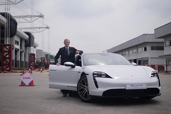 EV Drive & Ride,EV Asia 2020,ปอร์เช่ ไทคานน์,Porsche Taycan 4S,ปอร์เช่ ไทคานน์ 4 เอส,รถยนต์ไฟฟ้า,AAS