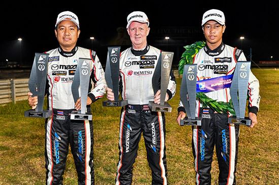 Thailand Super Series 2020,Mazda2,Mazda Innovation Motorsport,ทีม Mazda Innovation Motorsport,Super Compact,สนามช้าง อินเตอร์เนชั่นแนล เซอร์กิต,จารุตม์ จรวิเศษ,จารุตม์ จรวิเศษ หมายเลข 43,มานะ พรศิริเชิด