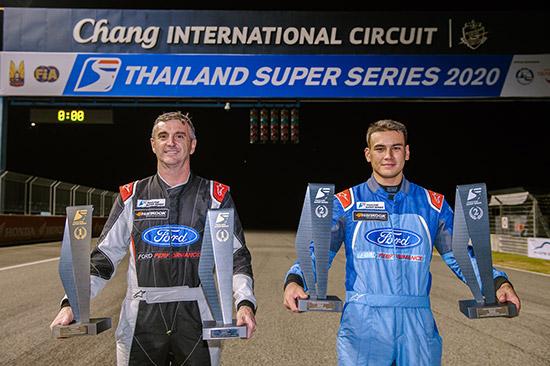 ฟอร์ด เรนเจอร์,Ford Thailand Racing,FTR,ทีมฟอร์ด ไทยแลนด์ เรซซิ่ง,แซนดี้ เคราแก้ว สตูวิค,Sandy Nicholas Stuvik,ไทยแลนด์ ซูเปอร์ ปิกอัพ,ผลการแข่งขันไทยแลนด์ ซูเปอร์ ปิกอัพ,ไทยแลนด์ ซูเปอร์ ซีรีส์