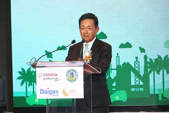 Decarbonized Sustainable City,โครงการการจัดตั้งเมืองที่ยั่งยืนโดยปราศจากมลภาวะ,โตโยต้า มอเตอร์ ประเทศไทย,โอซาก้า แก๊ซ,toyota Decarbonized Sustainable City,Neo Pattaya,เมืองพัทยา