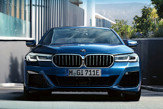 มิลเลนเนียม ออโต้,The New BMW 5 Series
