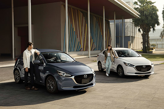 New Mazda2 2021 Collection,Mazda2 2021 Collection,Sport Paddle Shift,Mazda2 2021,GVC Plus,Mazda2 2021 Collection ใหม่,New Mazda2 2021 Collection ออฟชั่น,Mazda2 2021 Collection ออฟชั่น,ราคา Mazda2 2021 Collection