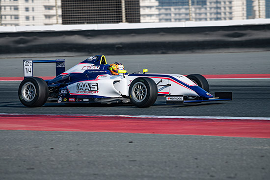 เติ้น ทัศนพล อินทรภูวศักดิ์,ทัศนพล อินทรภูวศักดิ์,การแข่งขันรถสูตร Formula 4 UAE Championship 2021,Formula 4 UAE Championship 2021,Dubai Autodrome,Xcel Motorsport,AAS Motorsport by AAS Auto service
