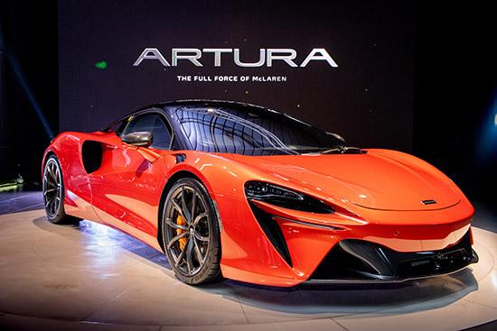 McLaren Artura,2021 McLaren Artura,McLaren,The all-new Artura,2021 The all-new Artura,Carbon Lightweight,Hybrid supercar,ซูเปอร์คาร์ไฮบริด,แมคลาเรน อาร์ทูรา,ราคา แมคลาเรน อาร์ทูรา,ราคา McLaren Artura,McLaren Artura 2021