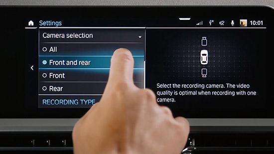 BMW Drive Recorder,ระบบ BMW Drive Recorder,ระบบบันทึกคลิปวีดีโอรอบรถได้แบบ 360 องศาขณะขับขี่