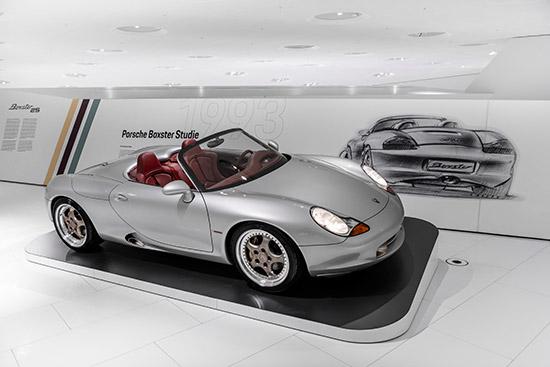 Porsche Museum,พิพิธภัณฑ์ Porsche Museum,25 Years of the Boxster,Porscheplatz