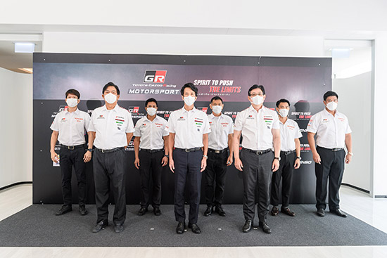 Toyota Gazoo Racing Motorsport 2021,Toyota Gazoo Racing Motorsport,โตโยต้ามอเตอร์สปอร์ต,Toyota Motorsport 2021,โตโยต้า กาซู เรซซิ่ง มอเตอร์สปอร์ต 2021