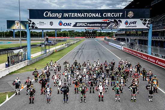 OR BRIC Superbike 2021,OR BRIC Superbike,การแข่งขันรถจักรยานยนต์ทางเรียบชิงแชมป์ประเทศไทย,สนามช้าง อินเตอร์เนชั่นแนล เซอร์กิต