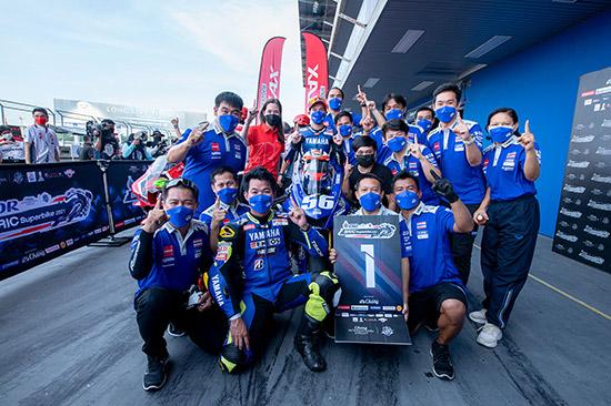 OR BRIC Superbike สนาม 2,ผลการแข่งขัน OR BRIC Superbike สนาม 2,ผลแข่ง OR BRIC Superbike,ฐิติพงศ์ วโรกร,รัฐพงษ์วิไลโรจน์,โออาร์ บีอาร์ไอซี ซูเปอร์ไบค์ 2021