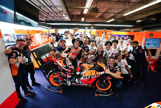 มาร์ค มาร์เกซ,สมเกียรติ จันทรา,โมโตจีพี 2021,motogp,Marc Marquez