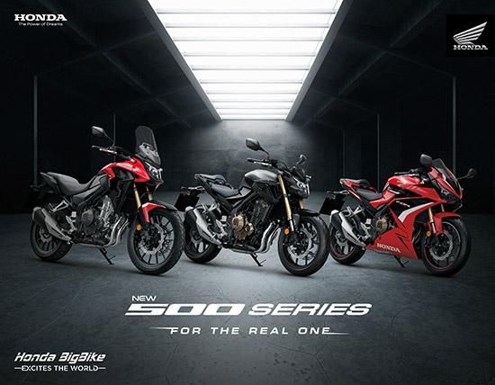 New CBR500R,New CB500F,New CB500X,ดิสก์เบรกหน้าคู่,โช้กอัพหน้าหัวกลับ,ดิสก์เบรกคู่,upside down fork,twin disc,CBR500R ใหม่,cb500f ใหม่,cb500x ใหม่,CBR500R 2022,cb500f 2022,cb500x 2022,Radial Mount 4 Pots