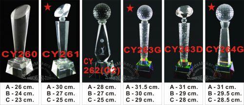 crystal trophy 10