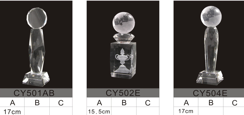crystal trophy 19