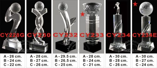 crystal trophy 5
