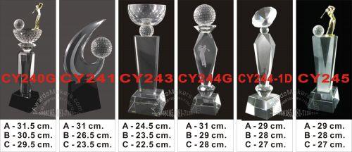 crystal trophy 7