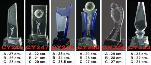 crystal trophy 8
