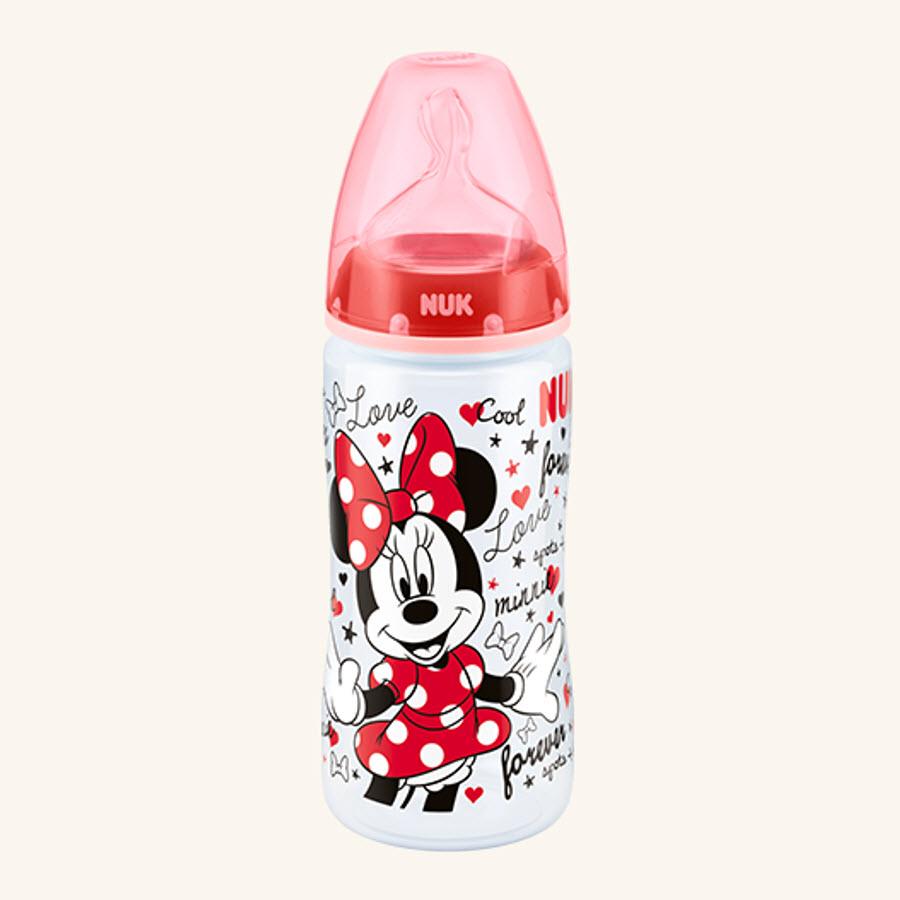6-18m BPA Free NUK Nature Sense Silicone Medium Flow Wide-Neck Bottle Teats