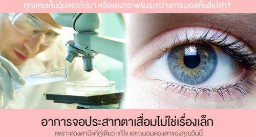 วุ้นตาเสื่อม จอประสาทตาเสื่อม กับงานวิจัย Operation bim