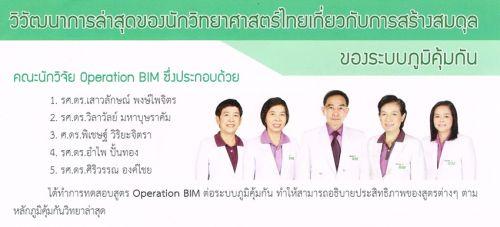 คณะวิจัย Operation bim