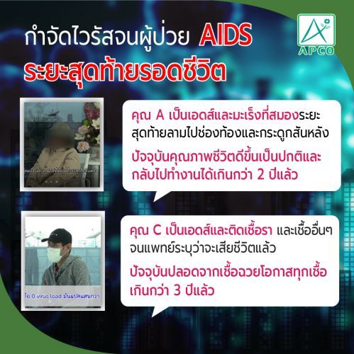 ทางรอดคนเป็นเอดส์ ,AIDS