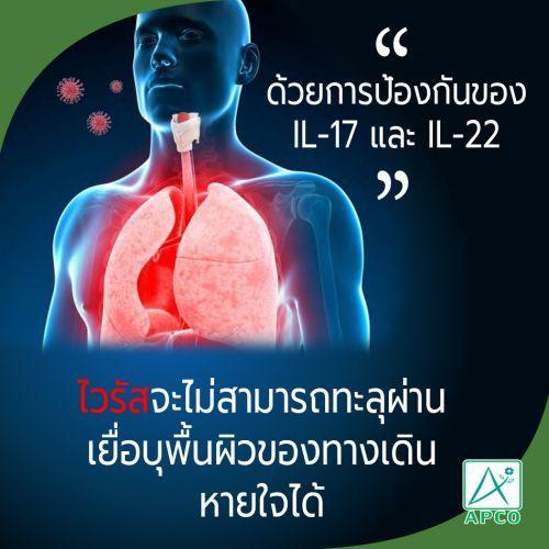 ป้องกันเชื้อไวรัส นวัตกรรมapco
