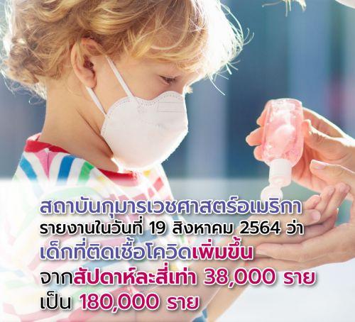 ป้องกันเด็กติดเชื้อcovid19
