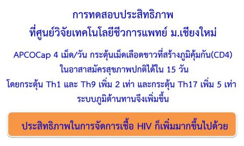 APCOcap หยุดโรคเอดส์