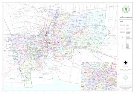 แผนที่กรุงเทพมหานคร