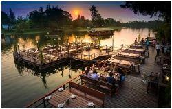 Keeree Tara Restaurant : ร้านอาหาร คีรีธารา กาญจนบุรี