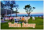 YouYen Balcony Restaurant : ร้านอาหาร อยู่เย็นบัลโคนี่ หัวหิน
