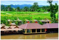 The Raft Land Resort : เดอะราฟท์แลนด์ รีสอร์ท กาญจนบุรี