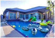 Dino Pool Villa : บ้านไดโน่ พูลวิลล่า ชะอำ