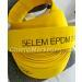 5ELEM EPDM Single Jacket All Synthetic Polyester Fire Hose, Yellow color, with EPDM Lining