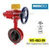 NIBCO WD48638N Butterfly Valve w/ Supervisory Switch, 300psi
