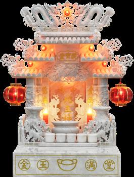 ศาลเจ้าที่จีนหินอ่อน