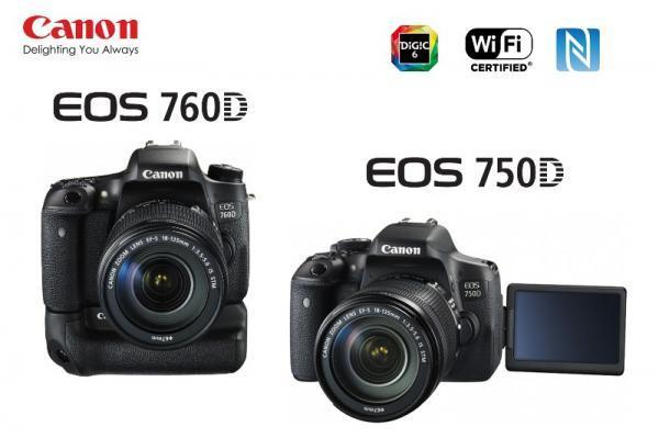 Canon 760D 750D