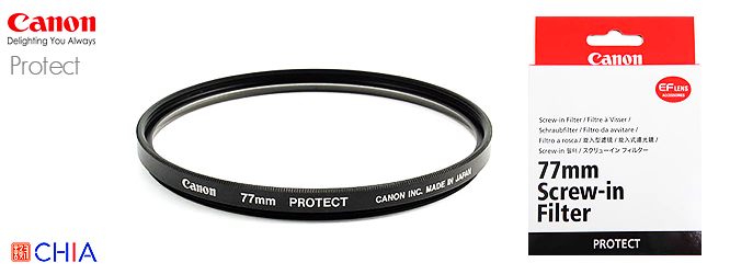 Canon Protect Filter 52 58 62 67 72 77 mm