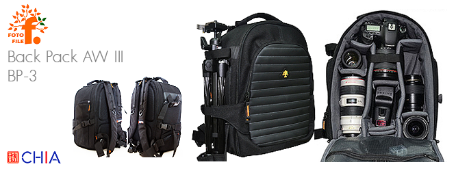 Fotofile Back Pack AW III BP-3 DSLR Bag