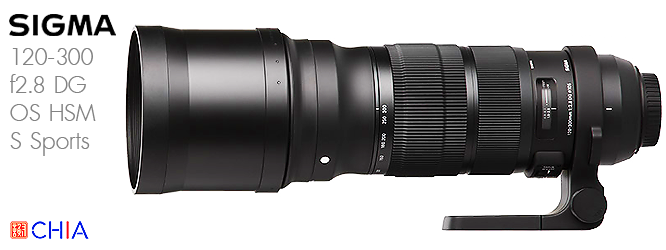Lens Sigma120-300 f28 DG OS HSM S Sports