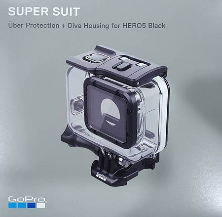 Gopro Hero 5 Black Super Suit (Uber Protection + Dive Housing) เฮ้าซิ่งกันน้ำ 60เมตร -1