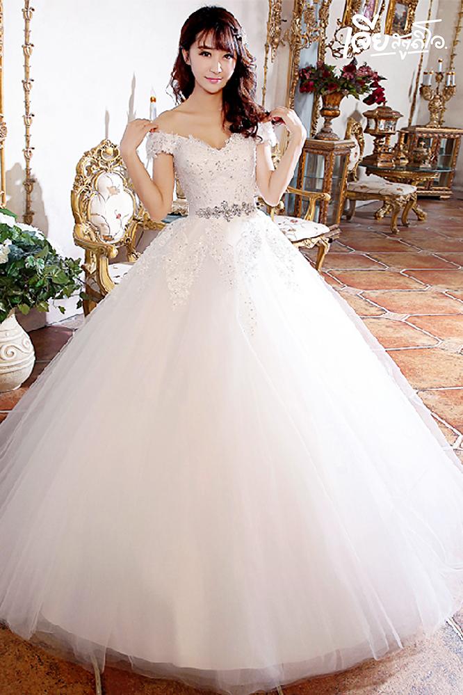 เช่าชุดแต่งงานวันจริง ชุดวิวาห์ไทย เจ้าบ่าวเจ้าสาว พรีเวดดิ้ง หาดใหญ่ เจียสตูดิโอ ราคาถูก prewedding-dress-rental-hatyai--11