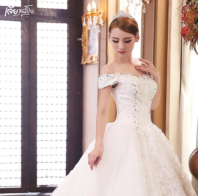 เช่าชุดแต่งงานวันจริง ชุดวิวาห์ไทย เจ้าบ่าวเจ้าสาว พรีเวดดิ้ง หาดใหญ่ เจียสตูดิโอ ราคาถูก prewedding-dress-rental-hatyai--16