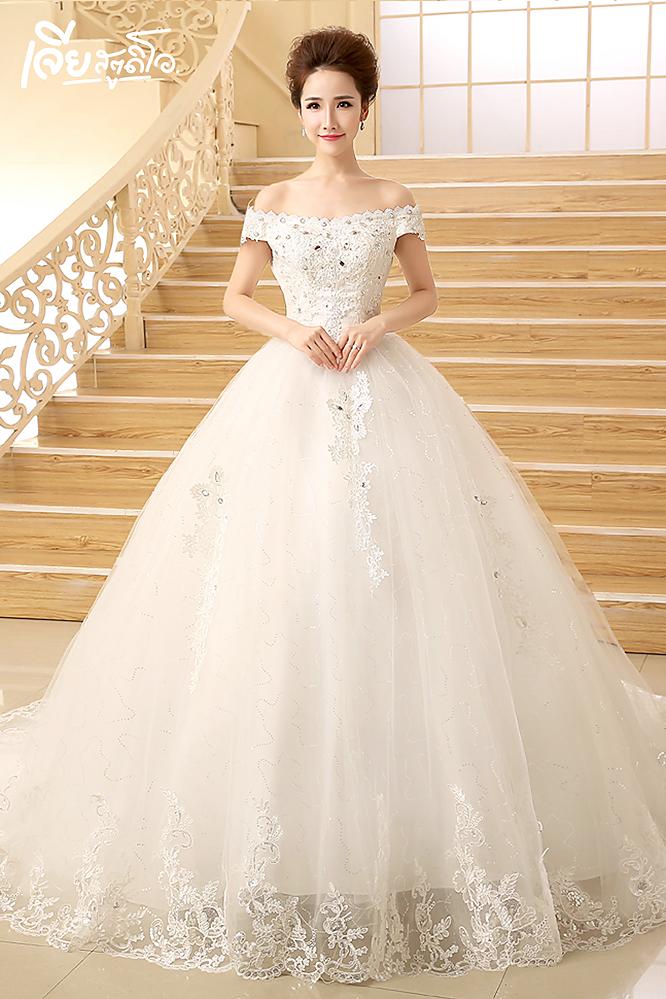 เช่าชุดแต่งงานวันจริง ชุดวิวาห์ไทย เจ้าบ่าวเจ้าสาว พรีเวดดิ้ง หาดใหญ่ เจียสตูดิโอ ราคาถูก prewedding-dress-rental-hatyai--17
