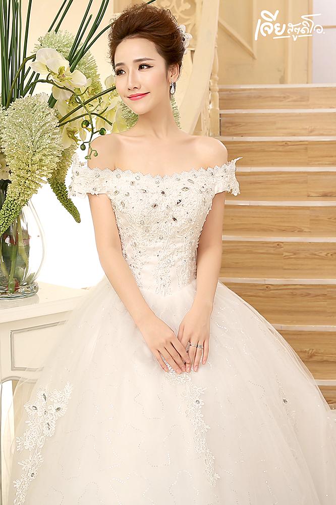 เช่าชุดแต่งงานวันจริง ชุดวิวาห์ไทย เจ้าบ่าวเจ้าสาว พรีเวดดิ้ง หาดใหญ่ เจียสตูดิโอ ราคาถูก prewedding-dress-rental-hatyai--18