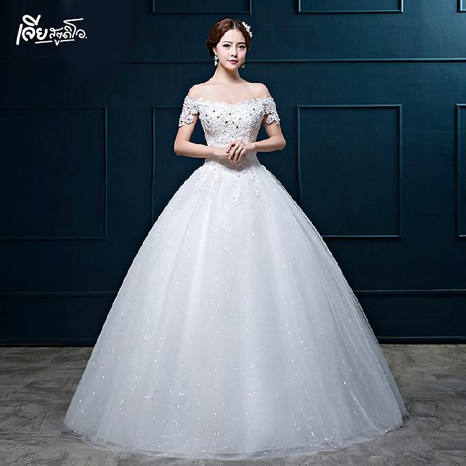 เช่าชุดแต่งงานวันจริง ชุดวิวาห์ไทย เจ้าบ่าวเจ้าสาว พรีเวดดิ้ง หาดใหญ่ เจียสตูดิโอ ราคาถูก prewedding-dress-rental-hatyai--20