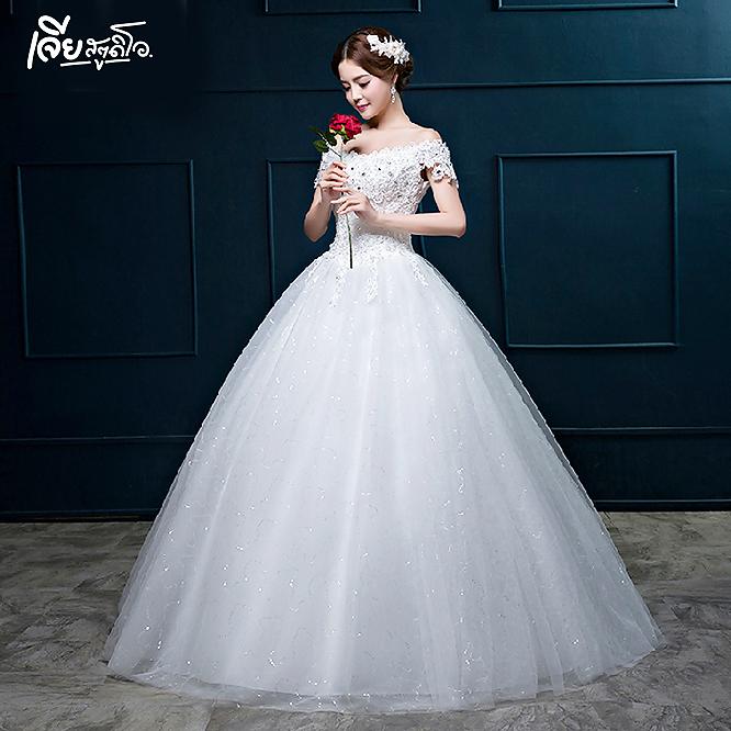 เช่าชุดแต่งงานวันจริง ชุดวิวาห์ไทย เจ้าบ่าวเจ้าสาว พรีเวดดิ้ง หาดใหญ่ เจียสตูดิโอ ราคาถูก prewedding-dress-rental-hatyai--21