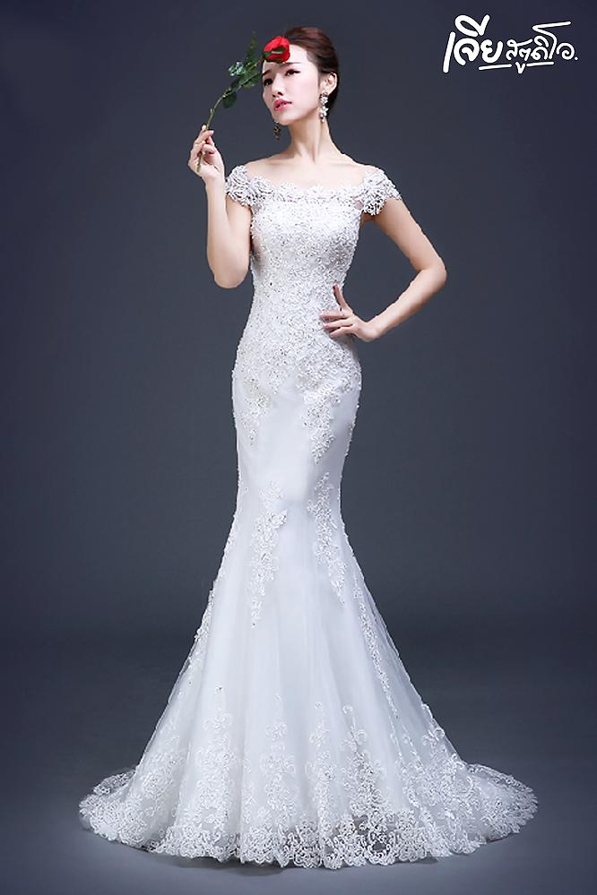 เช่าชุดแต่งงานวันจริง ชุดวิวาห์ไทย เจ้าบ่าวเจ้าสาว พรีเวดดิ้ง หาดใหญ่ เจียสตูดิโอ ราคาถูก prewedding-dress-rental-hatyai--23