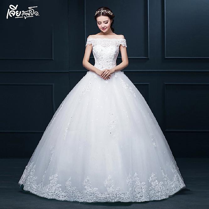 เช่าชุดแต่งงานวันจริง ชุดวิวาห์ไทย เจ้าบ่าวเจ้าสาว พรีเวดดิ้ง หาดใหญ่ เจียสตูดิโอ ราคาถูก prewedding-dress-rental-hatyai--24