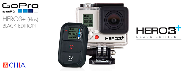 GoPro HERO3+ Black Edition Action Camera กล้องเจีย